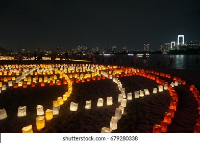 candle night in Tokyo