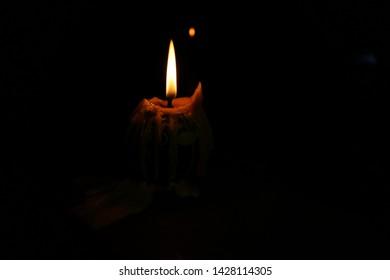 candle  symbol faith glow background bright shiny
