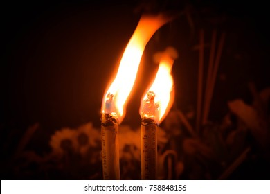 (candle)Culture  in North  Thailand