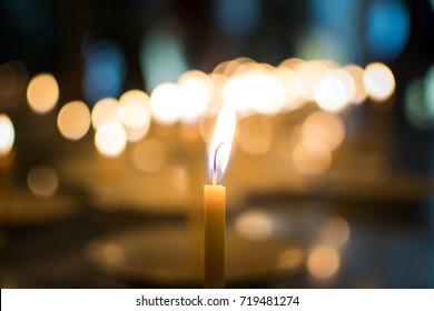 Candlelight among the dark