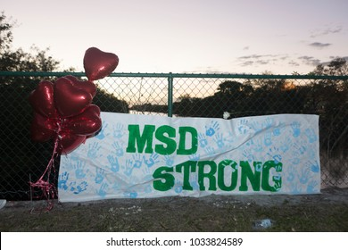 Candlelight celebrated with a Run/Walk event organized by Runner's Depot to honor the 17 victims from the  Marjory Stoneman Douglas High School in Coral Springs, Florida on February 25th, 2018