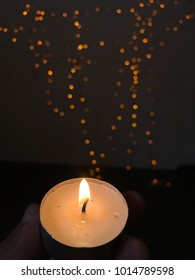Candlelight meditation religion for peace