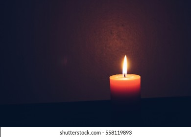Candlelight Romance,Lighting candles,Background candlelight.