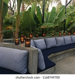 Candlelit Outdoor Lounge, Mexico