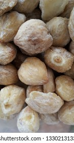 Candlenuts in traditional market