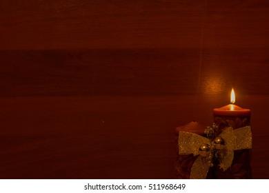 candles, backdrop, Christmas