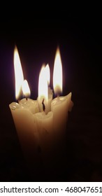 candles light .