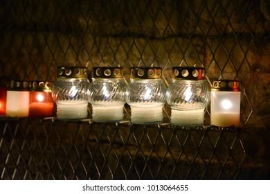 candles for the memory of the memorial