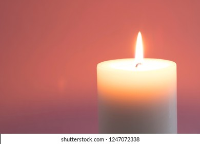 Candles on the table