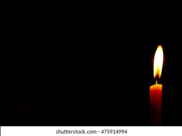 Candles in a power outage
