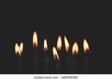 Candles in the wind. Lights up the room with mesmerizing Aura.