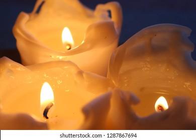 candlies fire decoration