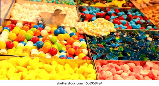 Candy background.
