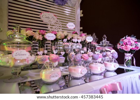 candy bar cakes delicious wedding candy stock photo edit now rh shutterstock com candy bar tables for parties candy bar table decorations