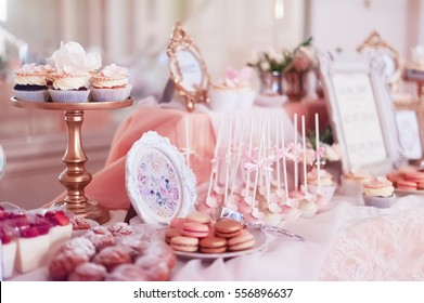 candy bar on wedding banquet