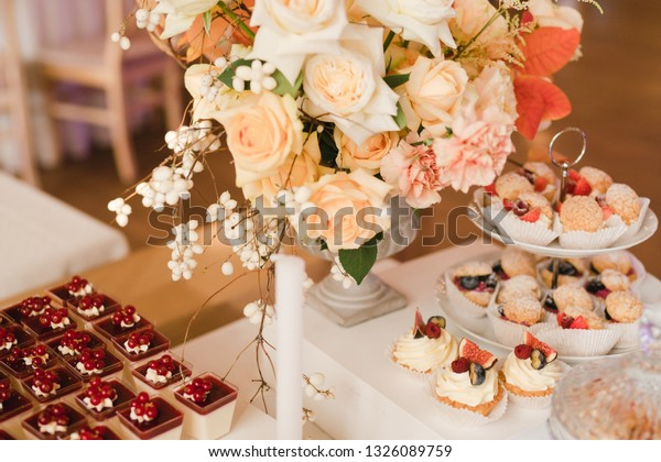 Candy Bar Tasty Desserts Appetizers Wedding Stock Photo Edit Now