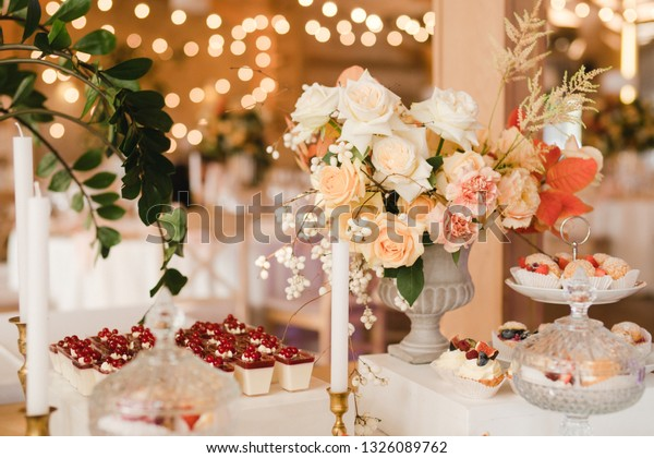 Candy Bar Tasty Desserts Appetizers Wedding Food And Drink