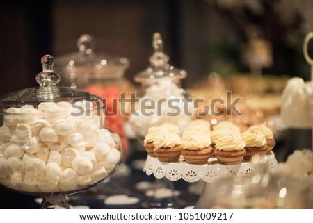 Candy Buffet Wedding Reception Stock Photo Edit Now 1051009217