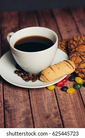 candy coffee mug biscuit