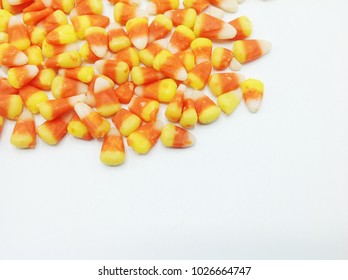Candy Corn on white background