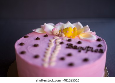 Candybar cake