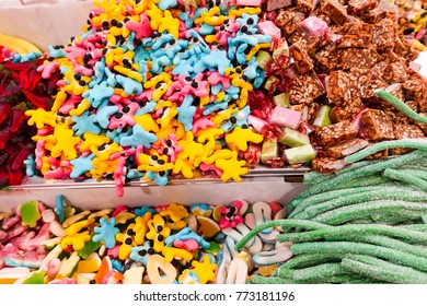 Candys and candy shop