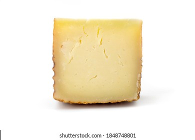 Canestrato Pugliese, a traditional sheep milk cheese from the italian region Apulia
