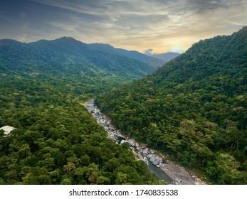 Cangrejal river in Honduras central america