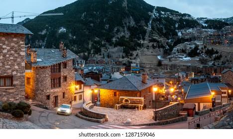 Canillo ski resort, Andorra