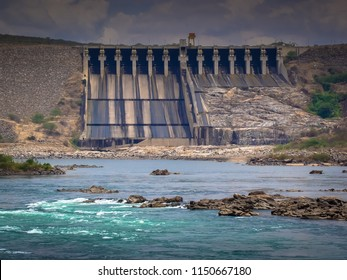 Caninde do Sao Francisco/SE/Brazil - 01-23-2009: Xingo Hydroelectric Plant located between the states of Alagoas and Sergipe - Shutterstock ID 1150667180