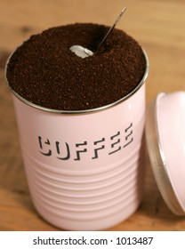 Canister of Coffee
