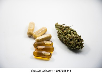 Cannabis oil and capsules