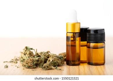 cannabis oil cbd.cannabis medical marijuana concept
