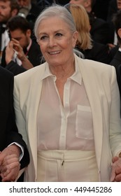 "CANNES, FR - MAY 12, 2016: Actress Vanessa Redgrave at the gala premiere for ""Money Monster"" at the 69th Festival de Cannes."