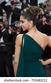 "CANNES, FR - May 18, 2017: Deepika Padukone at the premiere for ""Loveless"" at the 70th Festival de Cannes"