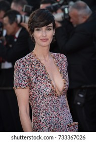 """CANNES, FR - May 20, 2017: Paz Vega at the premiere for """"120 Beats per Minute"""" at the 70th Festival de Cannes"""