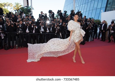 """CANNES, FR - May 20, 2017: Kendall Jenner at the premiere for """"120 Beats per Minute"""" at the 70th Festival de Cannes"""