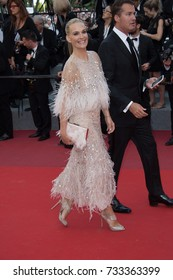 """CANNES, FR - May 21, 2017: Molly Sims at the premiere for """"The Meyerowitz Stories"""" at the 70th Festival de Cannes"""