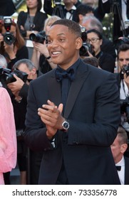 CANNES, FR - May 23, 2017: Will Smith at the 70th Anniversary Gala for the Festival de Cannes