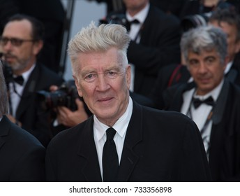 CANNES, FR - May 23, 2017: David Lynch at the 70th Anniversary Gala for the Festival de Cannes
