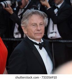 CANNES, FR - May 23, 2017: Roman Polanski at the 70th Anniversary Gala for the Festival de Cannes