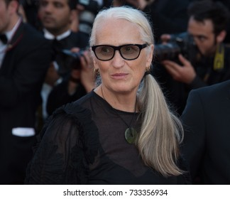 CANNES, FR - May 23, 2017: Jane Campion at the 70th Anniversary Gala for the Festival de Cannes