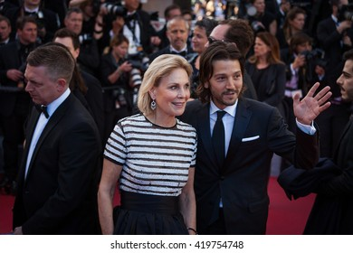 Cannes, France - 11 MAY 2016 - Diego Luna attends the screening of 'Cafe Society' at the opening gala of the annual 69th Cannes Film Festival at Palais des Festivals