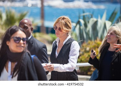 Cannes, France - 12 MAY 2016 - Julia Roberts attends the 'Money Monster' photocall during the 69th annual Cannes Film Festival at the Palais des Festivals
