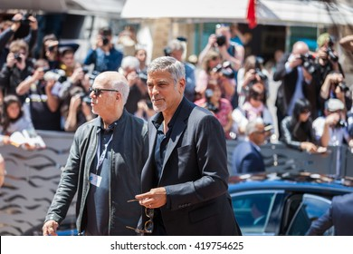 Cannes, France - 12 MAY 2016 - Actor George Clooney attends the 'Money Monster' photocall during the 69th annual Cannes Film Festival at the Palais des Festivals