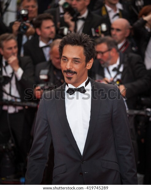 Cannes, France - 12 MAY 2016 - French actor Tomer Sisley attends the 'Money Monster' premiere during the 69th annual Cannes Film Festival