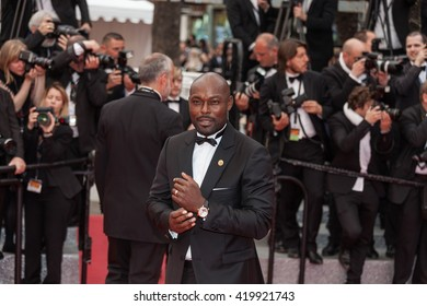 Cannes, France - 13 MAY 2016 - Jimmy Jean-Louis attends the 'Slack Bay (Ma Loute)' premiere during the 69th annual Cannes Film Festival