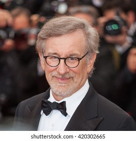 Cannes, France - 14 MAY 2016 - Steven Spielberg attends the 'The BFG (Le Bon Gros Geant - Le BGG)' premiere during the 69th annual Cannes Film Festival