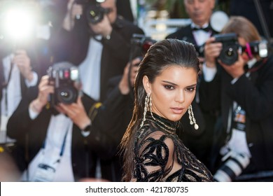 Cannes, France - 15 MAY 2016 - Kendal Jenner attends a screening of 'From The Land And The Moon (Mal De Pierres)' at the annual 69th Cannes Film Festival