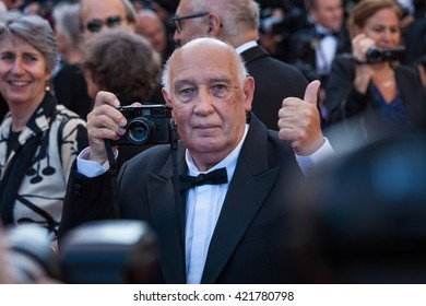 Cannes, France - 15 MAY 2016 - Photographer Raymond Depardon attends the 'From The Land Of The Moon (Mal De Pierres)' premiere during the 69th annual Cannes Film Festival